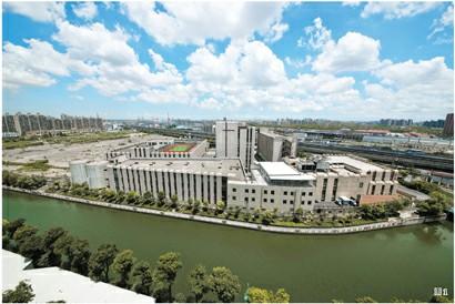 上海国际工业设计中心全景图