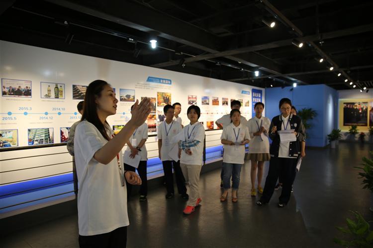 益民展示馆高中生社会实践场所志愿者服务工作