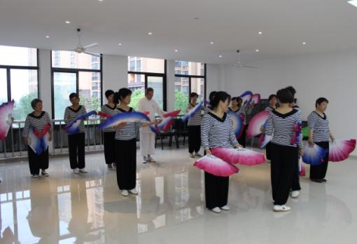 [嘉定]社区木兰扇,围棋情结缘吉林省四海考级图片