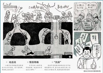 日本日军星球波动漫画侵华成又一漫画进村铁鬼子老兵自述图片