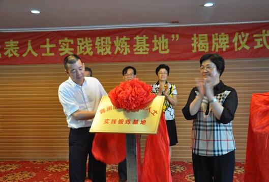 青浦区举行党外代表人士实践锻炼基地揭牌仪式