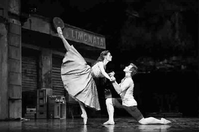丹麦皇家芭蕾舞团演出《拿波里》剧照