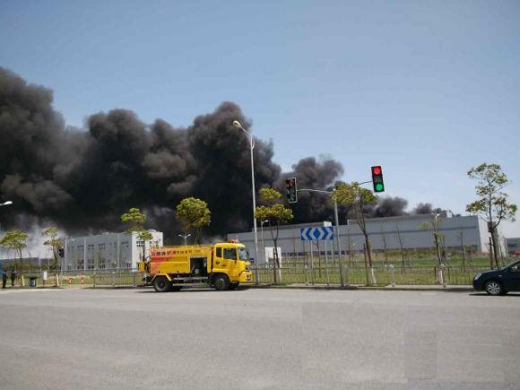 上海飞机制造公司失火