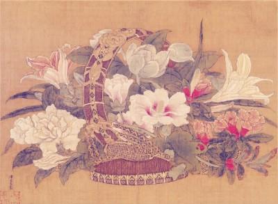 """古往今来,很多画家都留下过""""岁朝清供图"""",以鲜花,蔬果,文玩等寓意吉祥"""