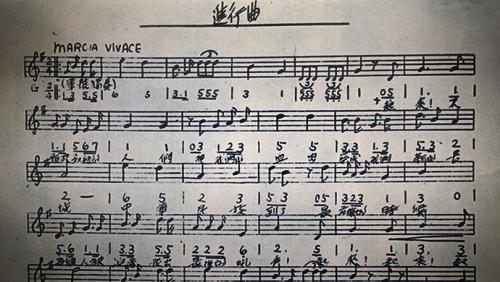 五线谱国歌五线谱