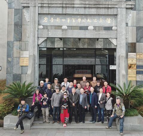 长三角摄影家联合创作活动首站赴安徽采风