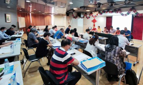 民革浦东新区区委会召开支部换届工作启动大会