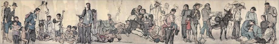 [原创] 绘坛学步《艺术巨匠——蒋兆和》 水彩人物习作 - ZMX 绘坛学步儿 - ZMXART 绘坛学步儿